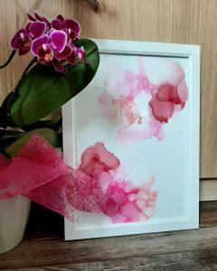 alkohol-inc-ink-alcohol-farben-bild-kunstwerk-künstler-linz-land-werke-mit-stil-rosa