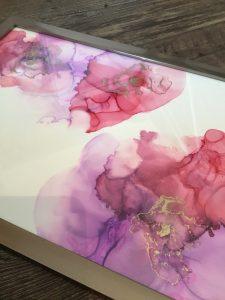 alkohol-inc-ink-alcohol-farben-bild-kunstwerk-künstler-linz-land-werke-mit-stil-rot-lila