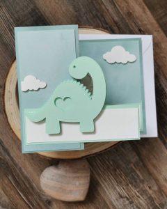 Karten-Kartengestaltung-Werkemitstil-Babykarte
